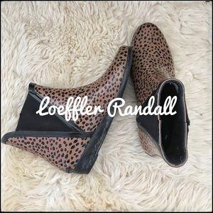 Loeffler Randall Chelsea Rain Boot - sz 6